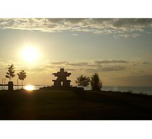 Sunset in Collingwood, Ontario Photographic Print