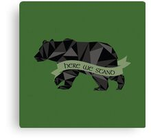 House Mormont Canvas Print