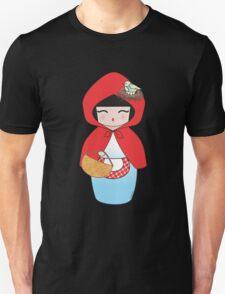 Kokeshi Little red riding hood Unisex T-Shirt