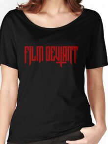 FILM DEVIANT Women's Relaxed Fit T-Shirt
