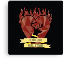 Stannis Baratheon 1 Canvas Print