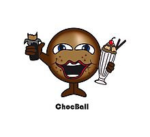 Choc Ball Photographic Print