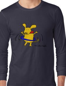 Yellow Dog Blue Hoop Long Sleeve T-Shirt