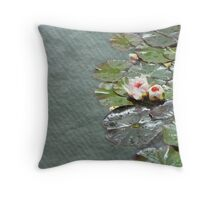 Watercolor Paper Throw Pillow