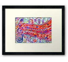 See the Music Framed Print