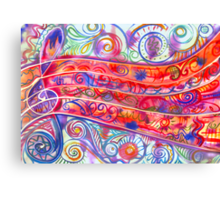 See the Music Canvas Print