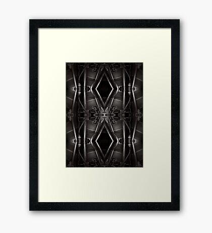 Radial engine • Aviabstraction Framed Print
