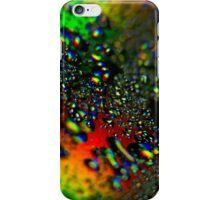 Waterdrops - Rainbow Colors II iPhone Case/Skin