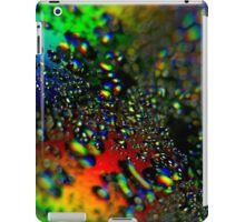 Waterdrops - Rainbow Colors II iPad Case/Skin