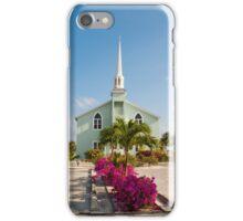 Little Cayman church iPhone Case/Skin