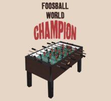 Foosball World Champ by antsp35