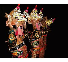 Balinese Dancers Photographic Print