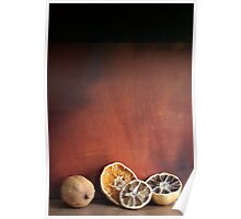 Still life Dried fruit Poster