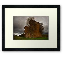Lithgow Blast Furnace Framed Print