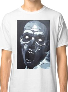Hungry Zombie- Abstract Zombie Painting Classic T-Shirt