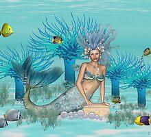 Marina .. the mermaid by LoneAngel