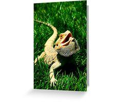 Modern Dragon Greeting Card