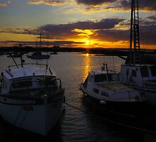 Haqrbour Sunset by nigel snell