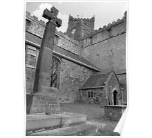 The Lake District: Cartmel Church Poster