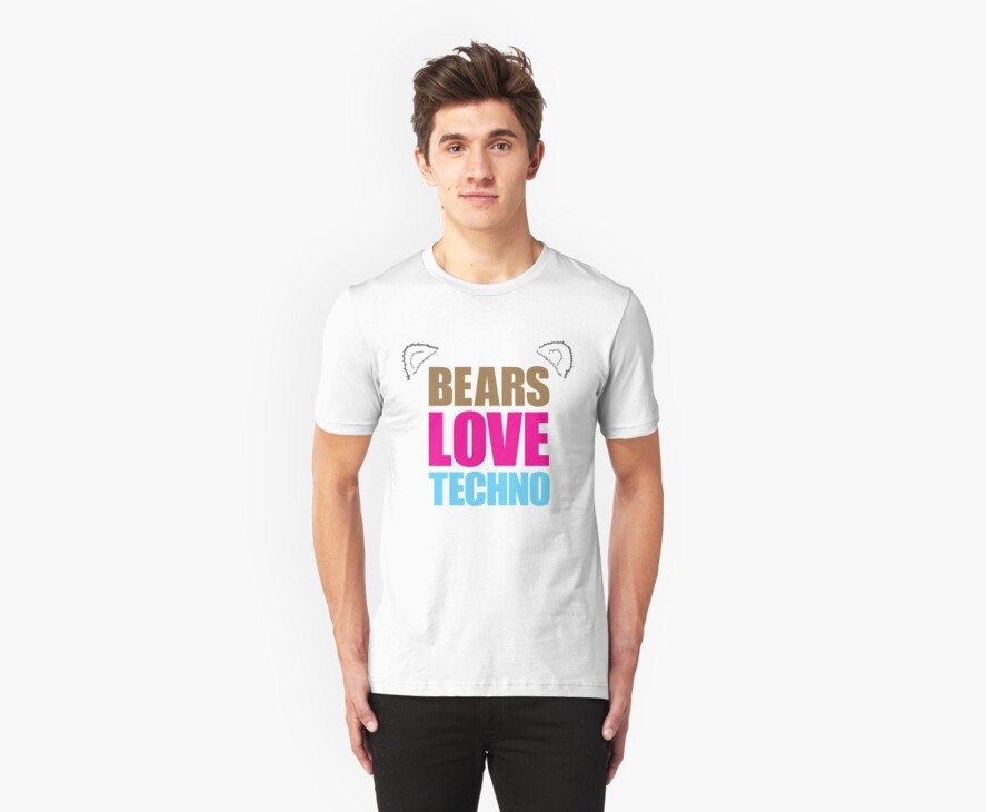 Bears Love Techno by andyc50