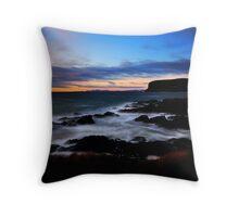 Sunrise at Kings Rocks, Stanley, NW Tasmania Throw Pillow