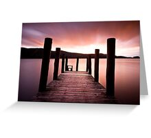 Derwent Jetty Greeting Card