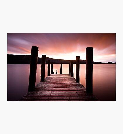 Derwent Jetty Photographic Print