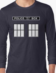 Police Public Call Box - Tardis  Long Sleeve T-Shirt