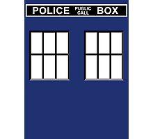 Police Public Call Box - Tardis  Photographic Print