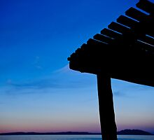 Blue Sky Roof by Kana Photography