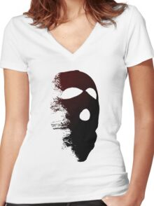 Criminal Concept 2 | Four Women's Fitted V-Neck T-Shirt