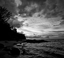 Batu Ferringhi Penang Malaysia Monochrome by MiImages