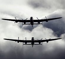 A Pair of AVRO Lancasters by captureasecond
