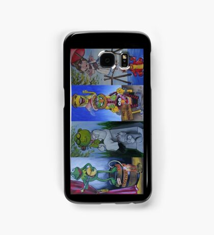 Muppets Haunted Mansion Stretching Room Portraits Samsung Galaxy Case/Skin