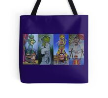 Muppets Haunted Mansion Stretching Room Portraits Tote Bag