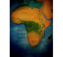The Dark Continent Photographic Print