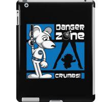 Danger Zone - blue iPad Case/Skin
