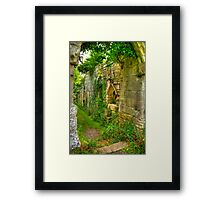 Passage Way Framed Print
