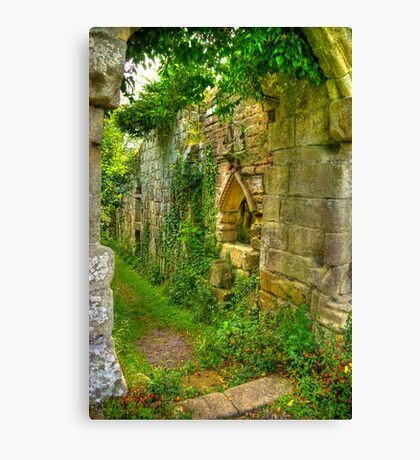 Passage Way Canvas Print