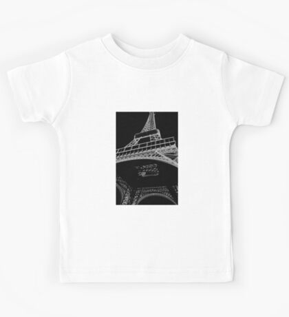 Digital Eiffel Kids Tee