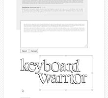 Keyboard Warrior by jshbny