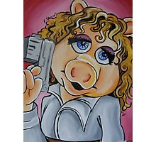 Miss Piggy, Professor River Song Photographic Print