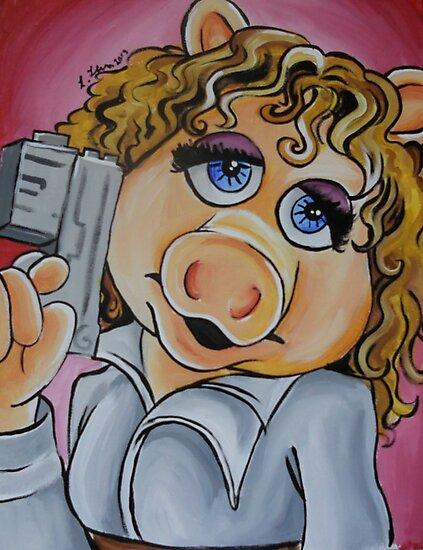 Miss Piggy, Professor River Song by lissyleem