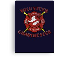 Volunteer Ghostbusters Canvas Print