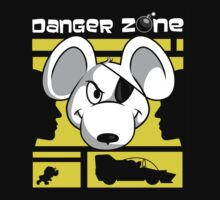 Danger Zone - yellow Kids Clothes
