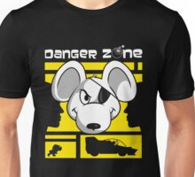 Danger Zone - yellow Unisex T-Shirt