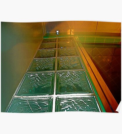 Glass Path Poster