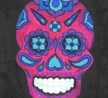 Sugar Skull- Three Amigos Sticker