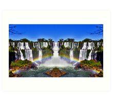 Iguazu Portal Art Print