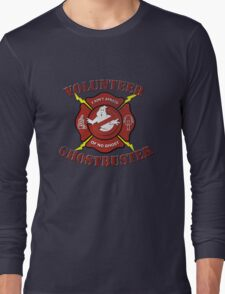 Volunteer Ghostbusters Long Sleeve T-Shirt